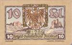 Austria, 10 Heller, FS 412Ig