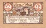 Austria, 99 Heller, FS 412Ig