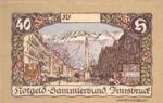 Austria, 40 Heller, FS 412IIa