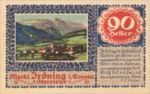 Austria, 90 Heller, FS 416