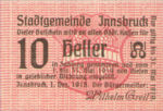 Austria, 10 Heller, FS 409b