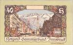 Austria, 40 Heller, FS 412IVa