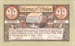 Austria, 99 Heller, FS 412IVa