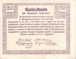 Austria, 50 Heller, FS 418a