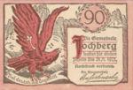 Austria, 90 Heller, FS 419a