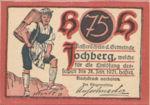 Austria, 75 Heller, FS 419c
