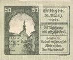 Austria, 50 Heller, FS 445Ib