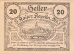 Austria, 20 Heller, FS 425