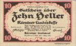 Austria, 10 Heller, FS 427