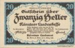 Austria, 20 Heller, FS 427