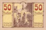 Austria, 50 Heller, FS 445IIa