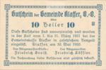 Austria, 10 Heller, FS 450b
