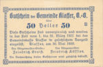 Austria, 50 Heller, FS 450b