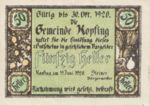 Austria, 50 Heller, FS 465c