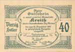 Austria, 40 Heller, FS 471a