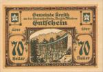 Austria, 70 Heller, FS 471a