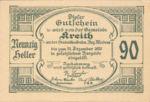 Austria, 90 Heller, FS 471a