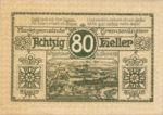 Austria, 80 Heller, FS 476IIIc