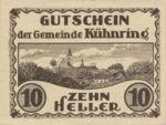 Austria, 10 Heller, FS 489f