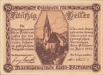 Austria, 50 Heller, FS 457a