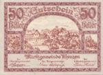 Austria, 50 Heller, FS 479a