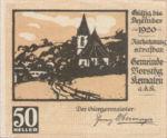 Austria, 50 Heller, FS 430e