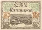 Austria, 20 Heller, FS 488Ia