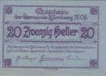 Austria, 20 Heller, FS 490a