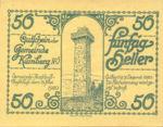 Austria, 50 Heller, FS 490a