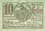 Austria, 10 Heller, FS 491e
