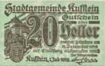 Austria, 20 Heller, FS 491e