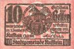 Austria, 10 Heller, FS 491f