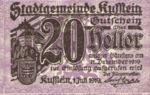 Austria, 20 Heller, FS 491g