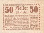Austria, 50 Heller, FS 447IIa