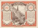 Austria, 20 Heller, FS 483a