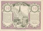 Austria, 10 Heller, FS 483c