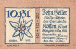Austria, 10 Heller, FS 468a