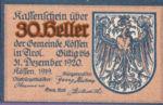 Austria, 30 Heller, FS 468a