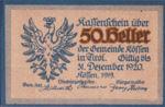 Austria, 50 Heller, FS 468a