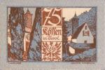 Austria, 75 Heller, FS 468a