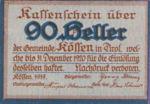 Austria, 90 Heller, FS 468a