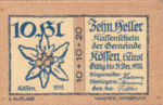 Austria, 10 Heller, FS 468b