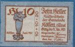 Austria, 10 Heller, FS 468c