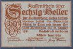 Austria, 60 Heller, FS 468c