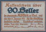 Austria, 90 Heller, FS 468c