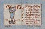 Austria, 10 Heller, FS 468d