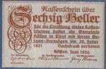 Austria, 60 Heller, FS 468d