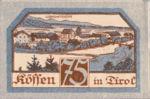 Austria, 75 Heller, FS 468d