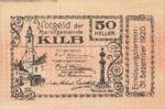 Austria, 50 Heller, FS 436Ia