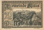 Austria, 20 Heller, FS 454Ib